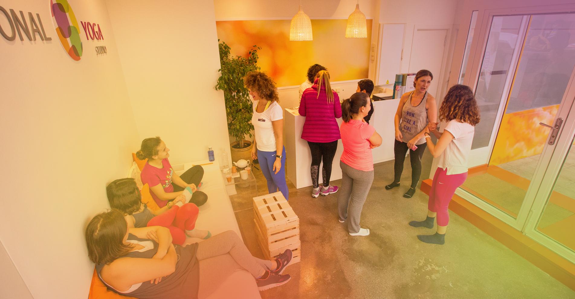 Personal Yoga Studio Entrada